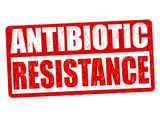 Antibiotic resistance sign or stamp