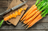 Fresh and sweet carrot - 178694582