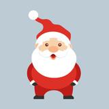Santa Claus. Cute ca...