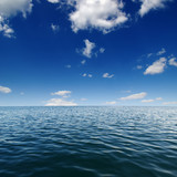 Blue sea water surface - 178700936