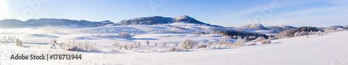 Papiers peints Photos panoramiques Winter landscape in Poland