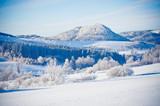 Winter landscape in Poland