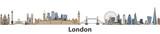 London vector city skyline