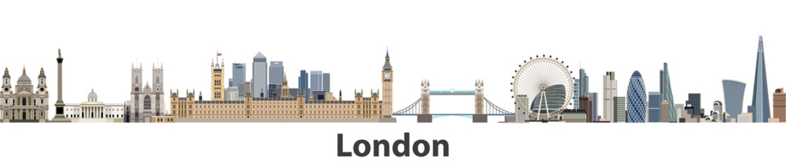London vector city skyline © jktu_21