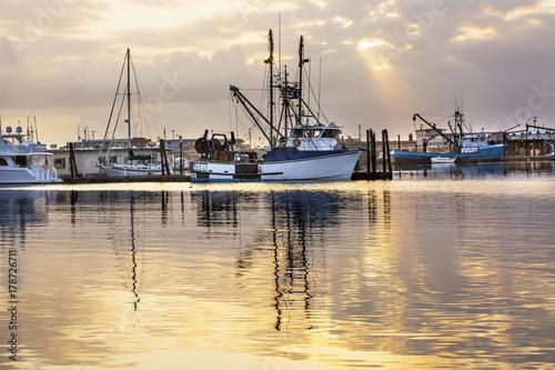 Aluminium Poort Large Fishing Boat Westport Grays Harbor Washington State