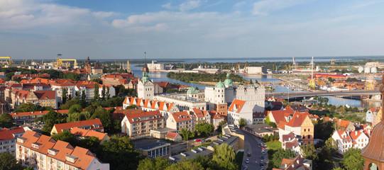 Szczecin / city panorama