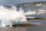 Closeup of splash of Mapu'a 'a Vaea Blowholes, Tongatapu, Tonga - 178773178