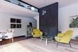Modern interior rendering