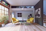 Modern interior rendering - 178773326
