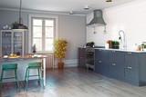 modern kitchen interior - 178773364