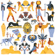 Ancient Egyptian Religion Elements Set