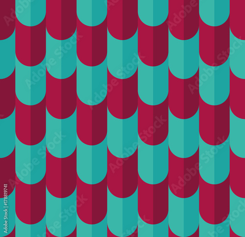 Cotton fabric Bright color seamless pattern.