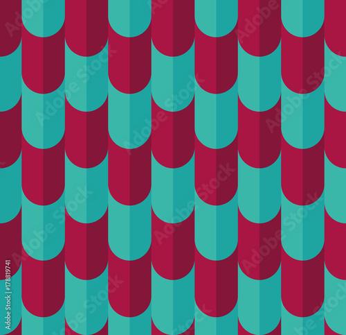 Materiał do szycia Bright color seamless pattern.