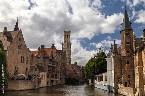 Papiers peints Bruges Old town of Bruges, Belgium
