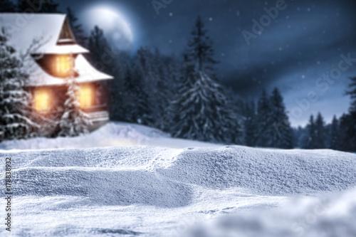 Papiers peints Kiev winter time and snow background