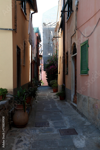 Foto op Canvas Liguria alleys streets and building of Portovenere s