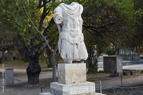emperor hadrian statue Poster