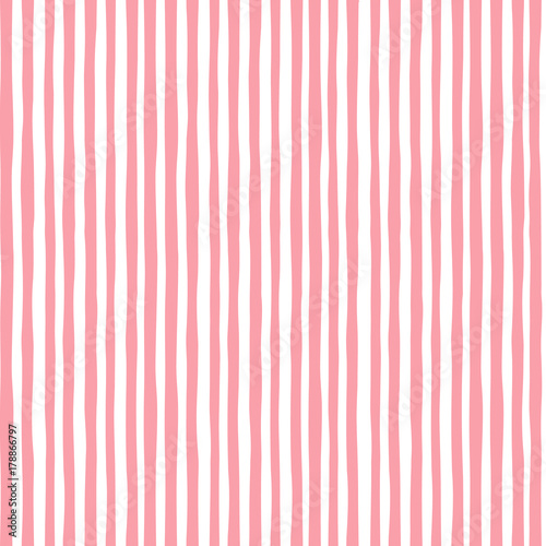 Materiał do szycia Pattern pink seamless, children's texture can be used for wallpaper, pattern fills, web page background, surface textures,fabric. Vector illustration