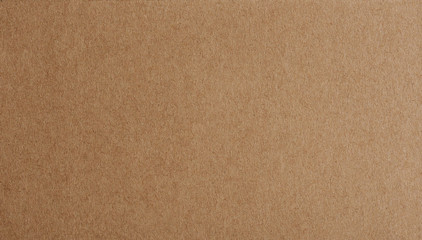 Flat brown paper background closeup