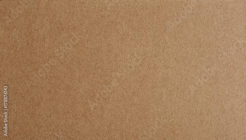Obraz na płótnie Flat brown paper background closeup