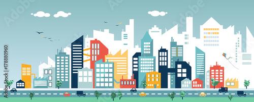 Cityscape Design - 178880960