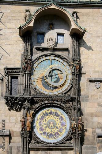 Astronomical Clock Poster