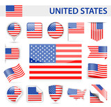 United States Flag Vector Set - 178883937