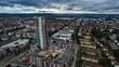 Leinwanddruck Bild - Der Fellbach Tower