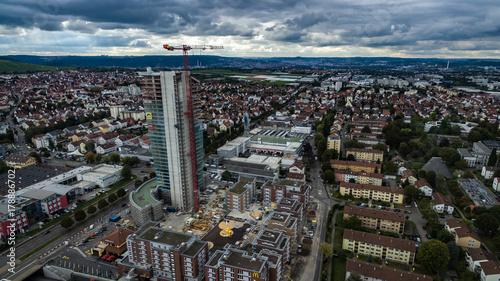 Leinwanddruck Bild Der Fellbach Tower