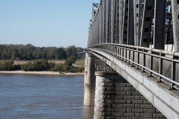 Mississippi River Bridge at Memphis