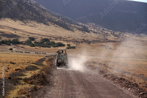 Foto Murales Ngorongoro Nationalpark Tansania