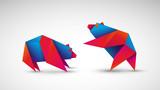 niedźwiedzie origami