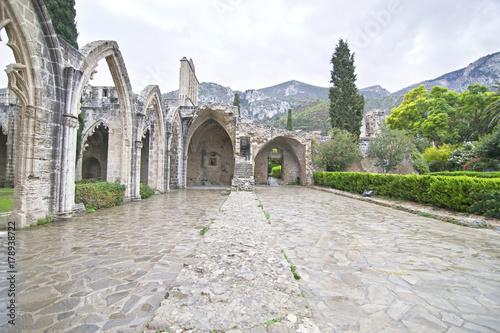 Papiers peints Chypre Bellapais Abbey in Northern Cyprus - Bellapais monastery - Cyprus landmarks