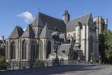 Saint Michael's Church - Ghent -Belgium poster