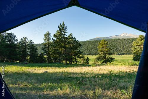 Aluminium Khaki Tent View