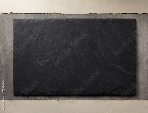 Fototapeta slate and stone surface as background