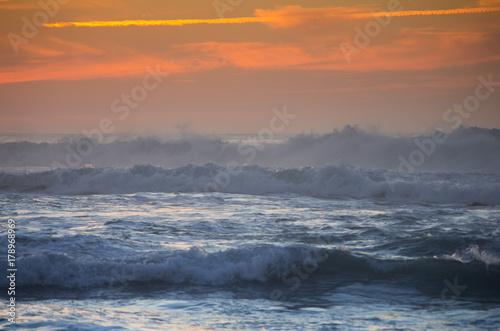 Deurstickers Canarische Eilanden The coast of Atlantic ocean