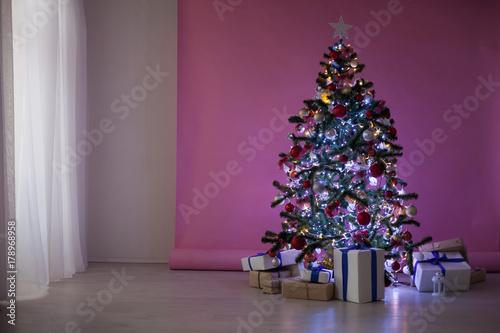 Poster Christmas decorations Christmas tree Gifts Christmas