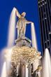 Blue Hour - Tyler Davidson Fountain, Fountain Square, Downtown Cincinnati, Ohio