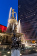 Blue Hour - Tyler Davidson Fountain, Fountain Square, Downtown Cincinnati, Ohio