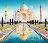 taj mahal in delhi indien