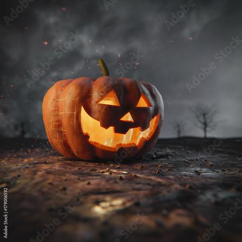 Poster Halloween Pumpkin