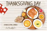 Thanksgiving Day Greeting Card - 179007153