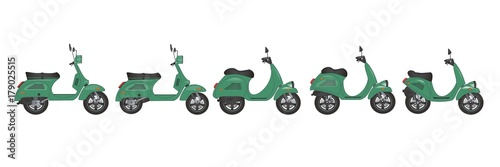 scooter history and design