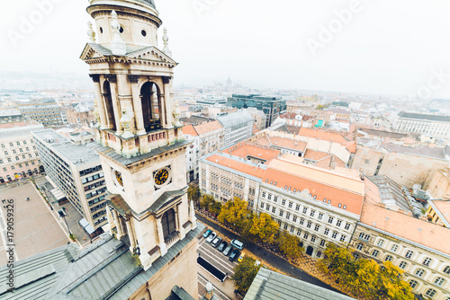 Papiers peints Budapest panorama of Budapest in auutmn day