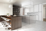 Contemporary Designed Kitchen (conception)