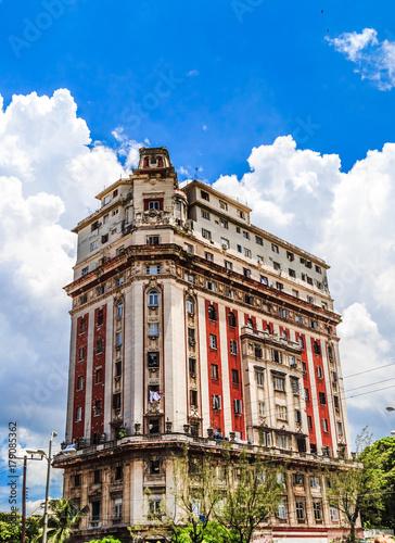 Poster Havana Гавана, Куба - Старый город Гавана. Центр города.
