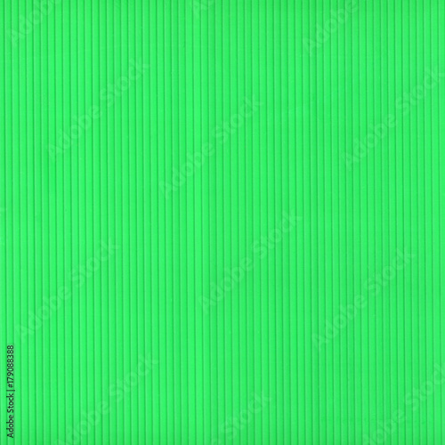 green corrugated polypropylene plastic texture background - 179088388