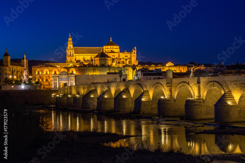 Cordoba at night Poster