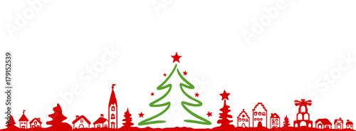 Weihnachten Stadt - 179152539